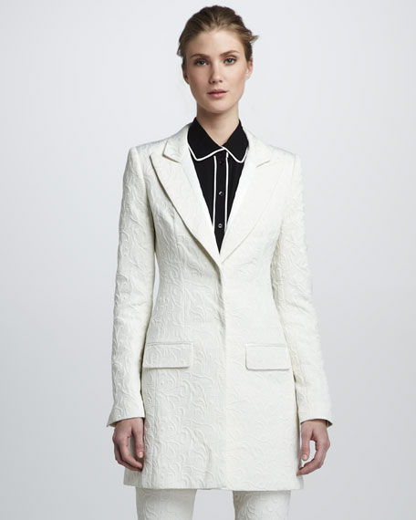Riley Brocade Coat