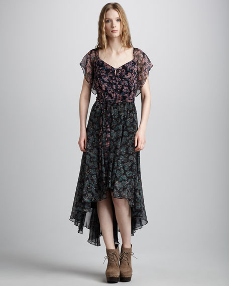 Blair Wildflower-Print Dress