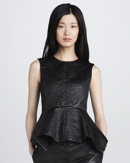 Yumi Brocade Top