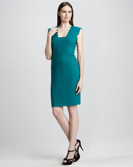 Fitted Ponte Dress