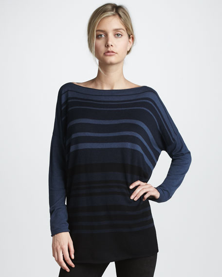 Sweater with Variegated Stripes