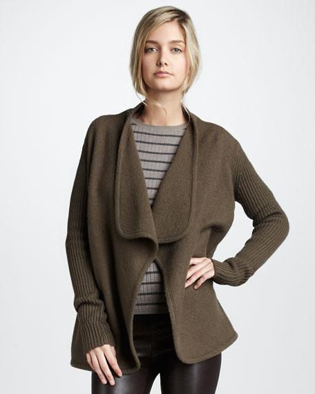 Wool Cascade Jacket