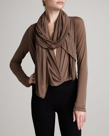 Scarf Body Blouse