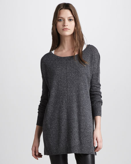 Boat-Neck Pullover