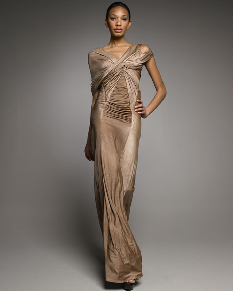 Shadow Luster Gown