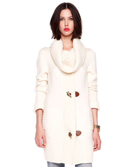 Toggle Sweater Coat