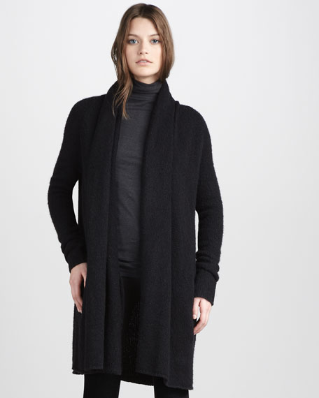 Open Knit Coat