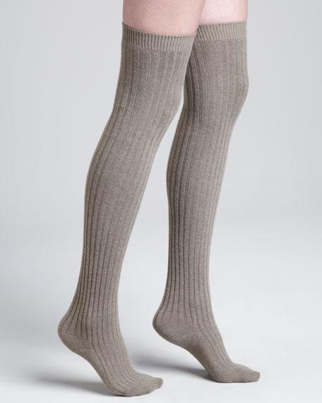 Over-the-Knee Cashmere Socks