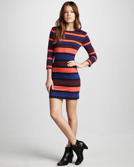 Kiren Striped Dress