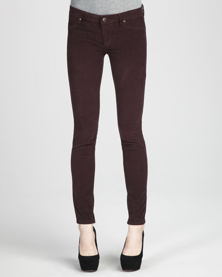 Corduroy Leggings, Purple