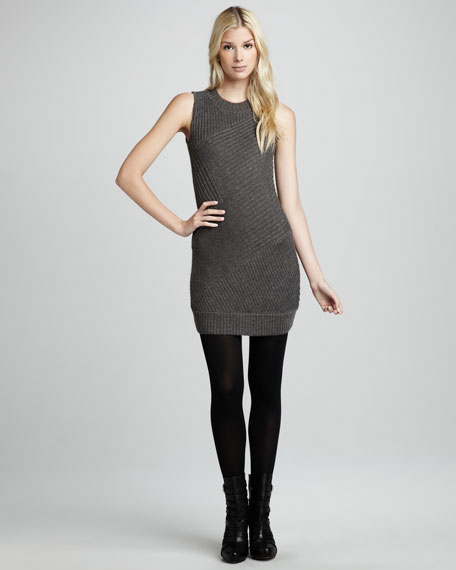 Sleeveless Sweaterdress
