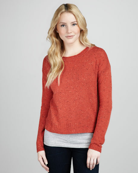 Specked Sweater