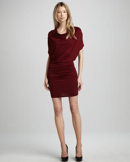 Drape-Top Dress