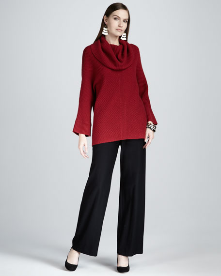 Eileen Fisher Cowl-Neck Sweater