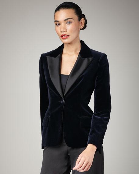 Velvet Jacket & Tux Pants