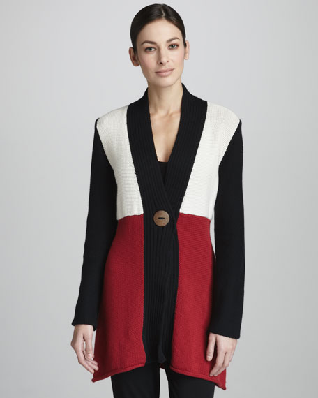 Sochi Colorblock Cardigan