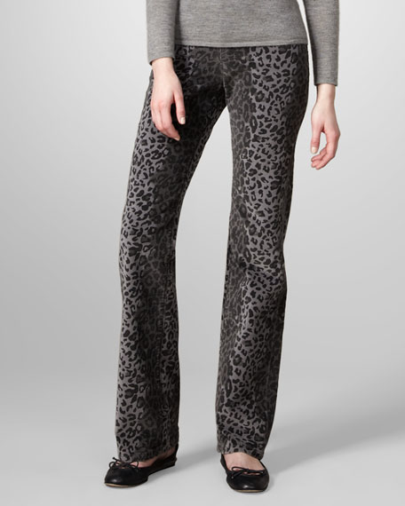 Travolta Printed Velvet Jean