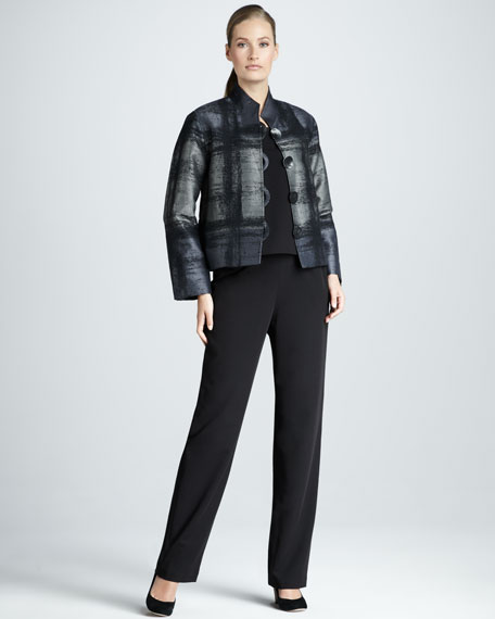 Boxy Jacquard Jacket, Women's