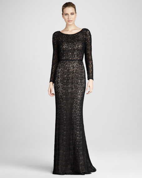 Crochet-Lace Gown