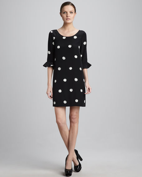 maria polka-dot dress