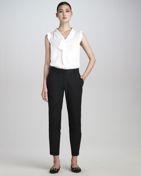 davis skinny pants, black