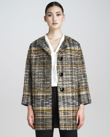 alessa printed jacket