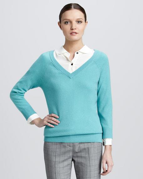 Drew V-neck Sweater