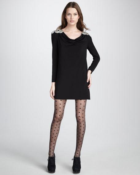 Marilyn Bow-Shoulder Dress