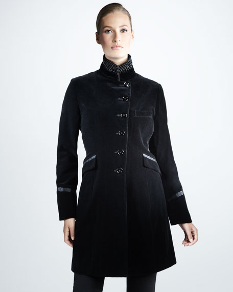 Water-Resistant Riding Coat