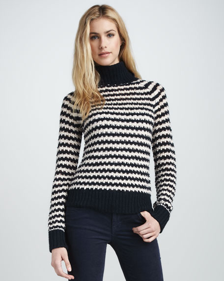 Carey Striped Sweater
