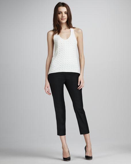 Mod Cropped Skinny Pants