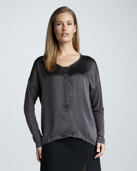 Go Luxe Charmeuse Top
