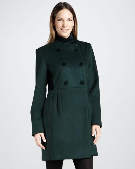 Ireland Velvet-Back Coat
