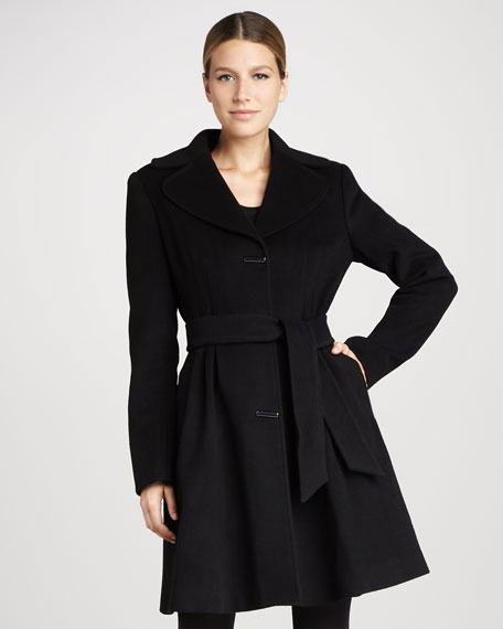 Julia Novelty-Button Coat