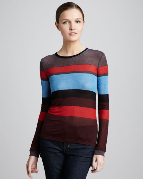 Olivia Striped Top