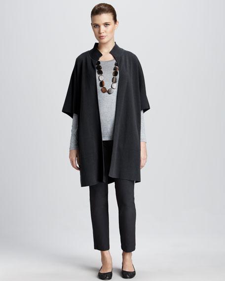 Stand-Collar Coat, Women's