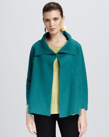 Wool Shawl Coat