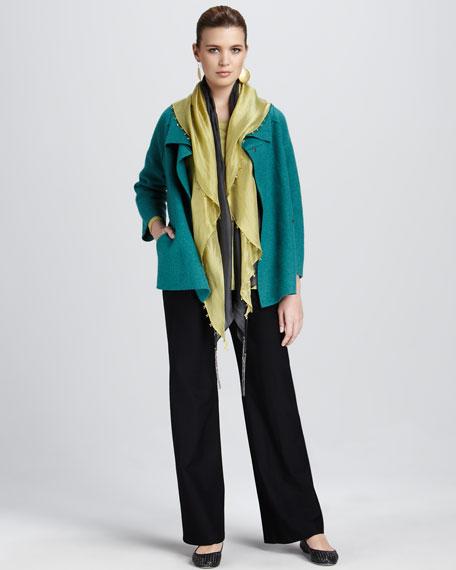 Wool Shawl Coat, Petite