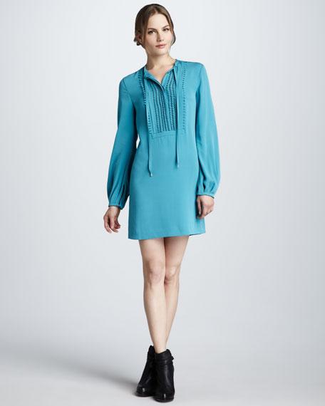 Jasleen Long-Sleeve Dress