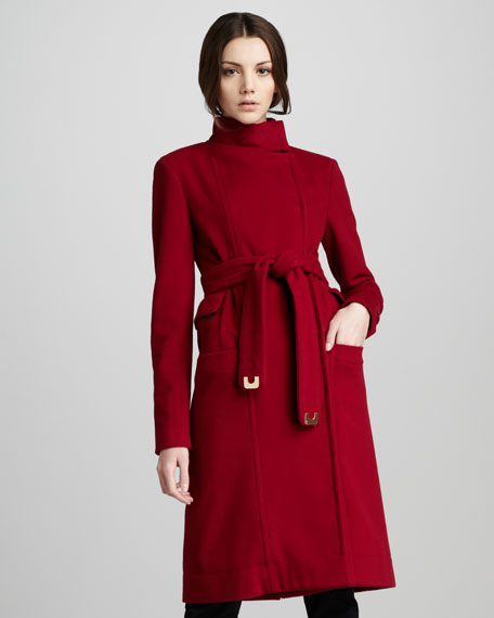 Sabrina High-Neck Coat