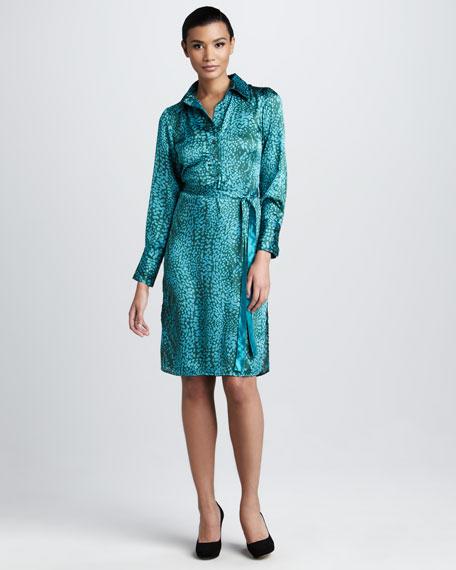 Printed Shirtdress, Women's