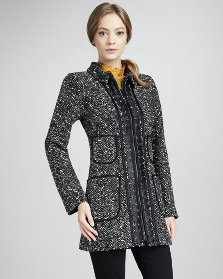 Aristocrat Tweed Coat