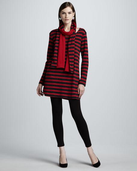 Metallic Stripe Tunic, Women's