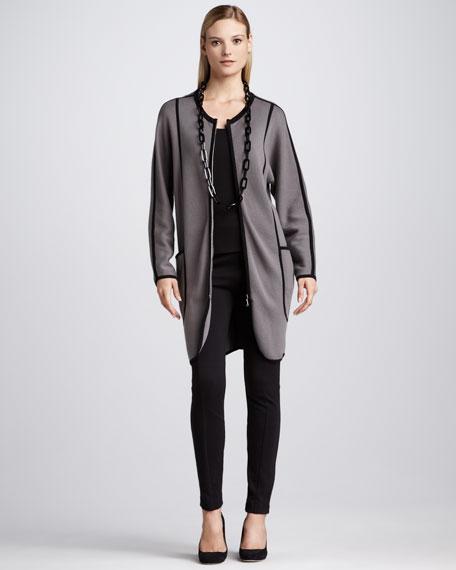 Milano Stitch Long Jacket, Women's