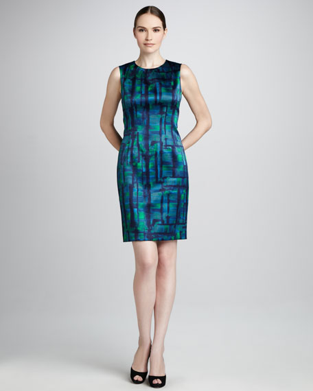 Emory Printed Sheath Dress