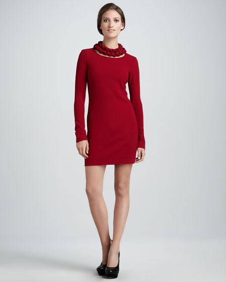 Giada Chain-Neck Dress