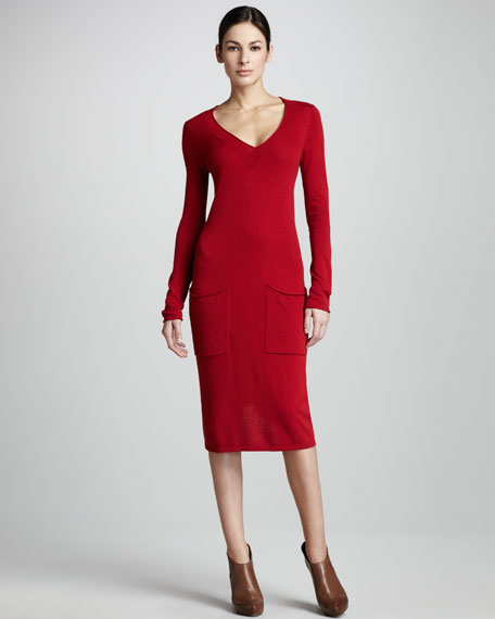 Soft Luxury Two-Pocket Dress