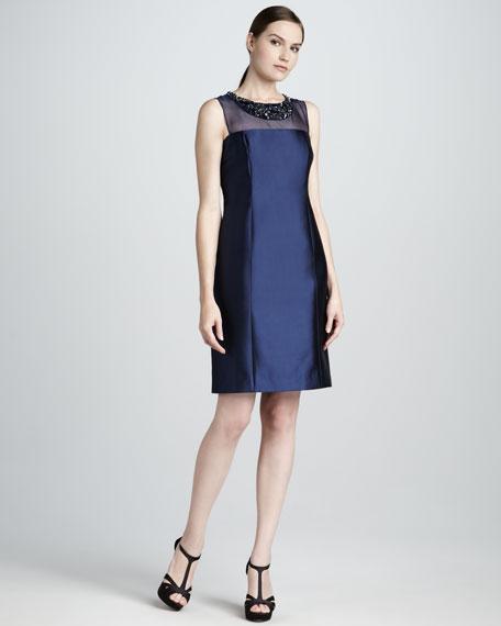 Bead-Neck Dress