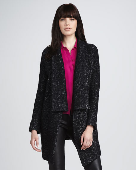 Shimmery Knit Cardigan