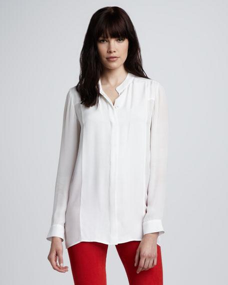 Basic Silk Blouse